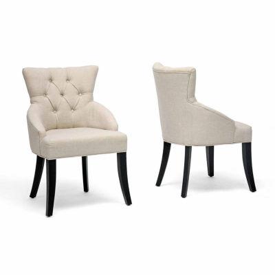 Baxton Studio Halifax 2-pack Side Chair