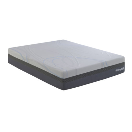 "Broyhill 13"" gel memory foam mattress"