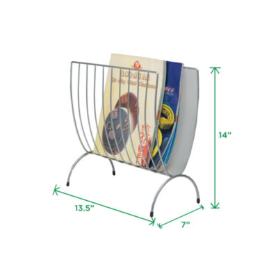 Mind Reader Magazine Wire Rack