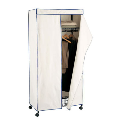 Neu Home Space Saving Canvas Wardrobe Closet