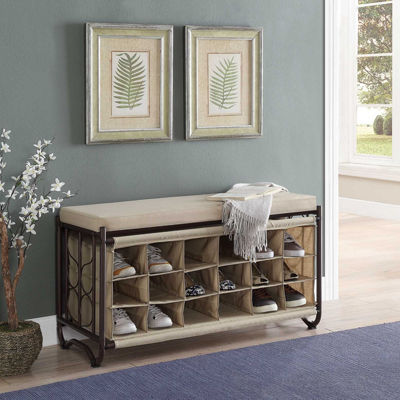 Neu Home Bench with Shoe Cubbies