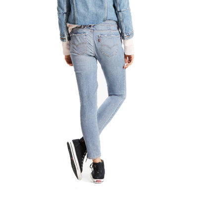 Levi's 711 Mended Skinny Ankle