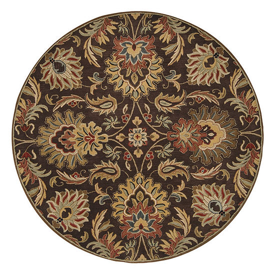 Decor 140 Vitrolles Hand Tufted Round Indoor Rugs