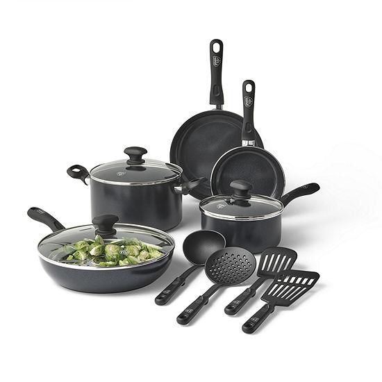 Greenlife 13-pc. Aluminum Dishwasher Safe Non-Stick Cookware Set