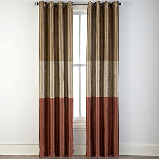 Studio Trio Grommet Top Curtain Panel Jcpenney