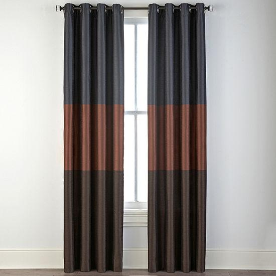 Liz Claiborne Trio Grommet-Top Curtain Panel