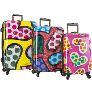 jcpenney.com | Heys® Britto Hearts Carnival Hardside Spinner Luggage Collection