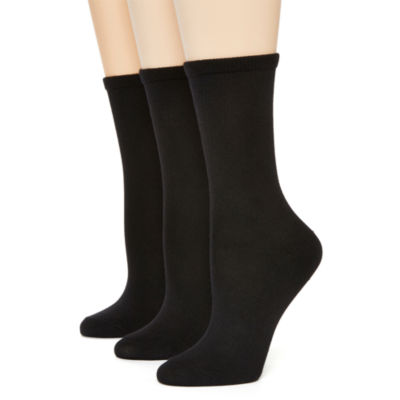 Hanes® Womens 3-pk. Ultimate ComfortSoft Crew Socks