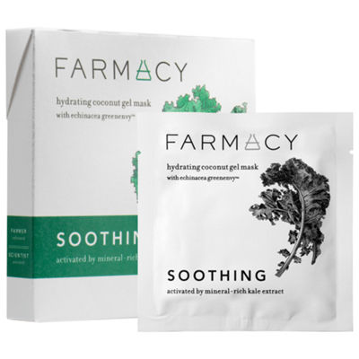 Farmacy Hydrating Coconut Gel Mask - Soothing Kale