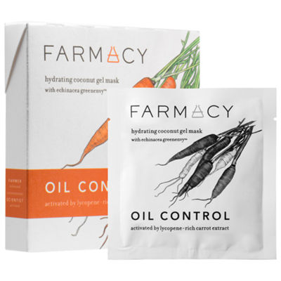 Farmacy Hydrating Coconut Gel Mask - Oil Control Carrot