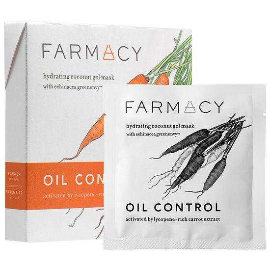 Farmacy Hydrating Coconut Gel Mask - Oil Control Carrot