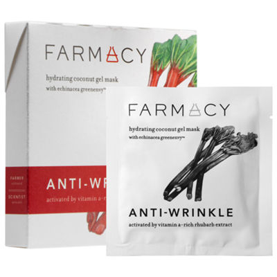 Farmacy Hydrating Coconut Gel Mask - Anti-WrinkleRhubarb