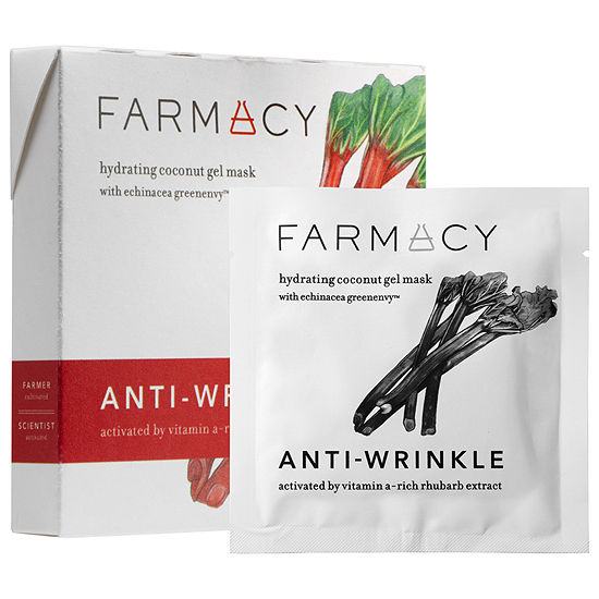 Farmacy Hydrating Coconut Gel Mask - Anti-WrinkleRhubarb
