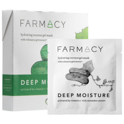 Farmacy Hydrating Coconut Gel Mask - Deep MoistureCucumber