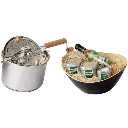 Wabash Valley Farms™ Whirley-Pop™ Stovetop Popper Organic Popcorn Gift Set