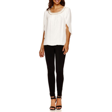jcpenney.com | Alyx® Chain Bubble Top or Slim Millenium Pants