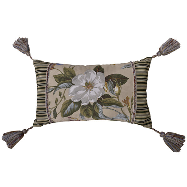 Williamsburg Garden Images Oblong Decorative Pillow