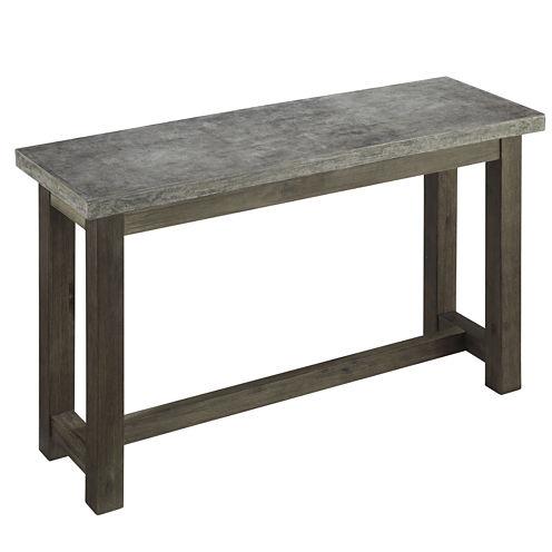 Austin Concrete Console Table