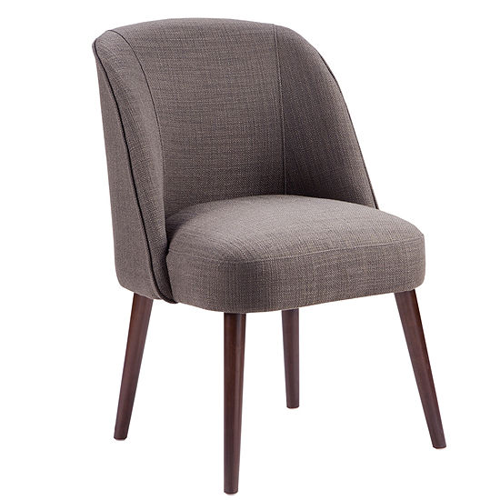 Lou Soft Round-Back Accent Chair