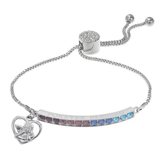 Sparkle Allure Multi Color 7.5 Inch Box Stretch Bracelet