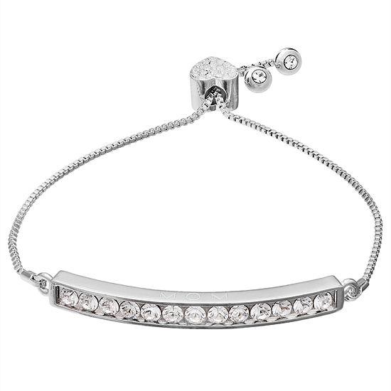 Sparkle Allure White Stretch Bracelet