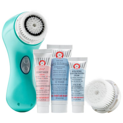 Clarisonic Mia 2 Sea Breeze First Aid Beauty Set