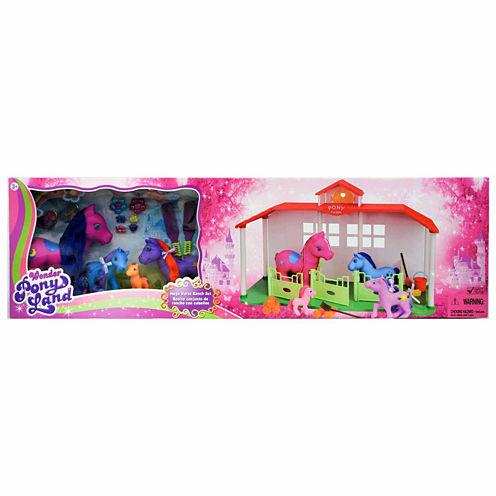 Gi-Go Toys Mega Horse Ranch Set