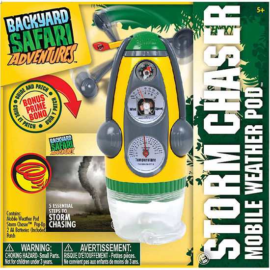Backyard Safari Storm Chaser Field Kit Unisex 3-pc. Dress Up Accessory