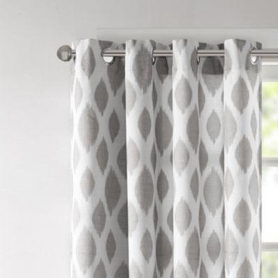Madison Park Ivy Grommet-Top Curtain Panel