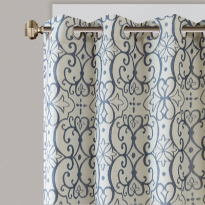 Madison Park Maren Blackout Grommet-Top Curtain Panel