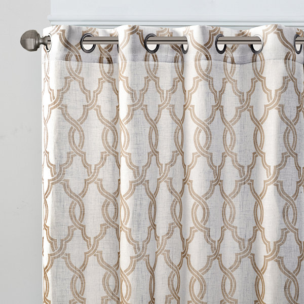 Grant Grommet-Top Curtain Panel