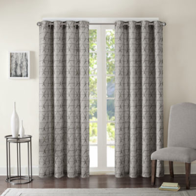 Adrian Grommet-Top Curtain Panel