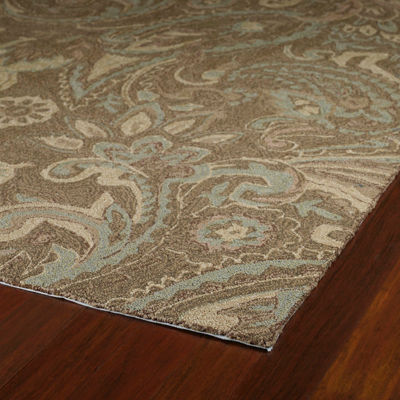 Kaleen Home And Porch Paisley Hand Tufted Rectangular Rugs
