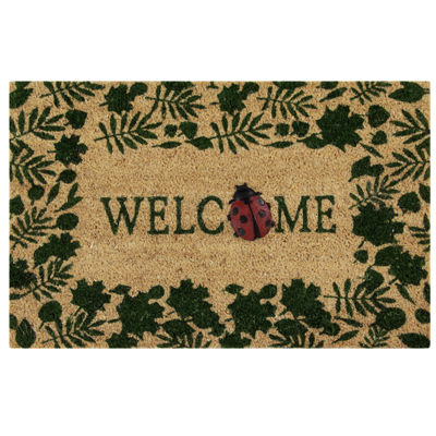 "Better Trends Welcome Printed Rectangular Doormat - 18""X28"""