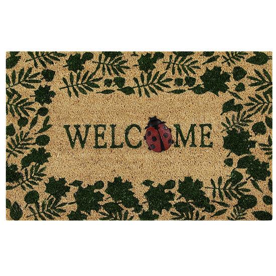 """Better Trends Welcome Printed Rectangular Doormat - 18""""X28"""""""