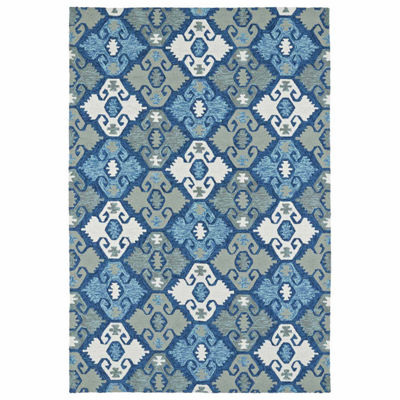 Kaleen Habitat Diamond Hand Tufted Rectangular Rugs