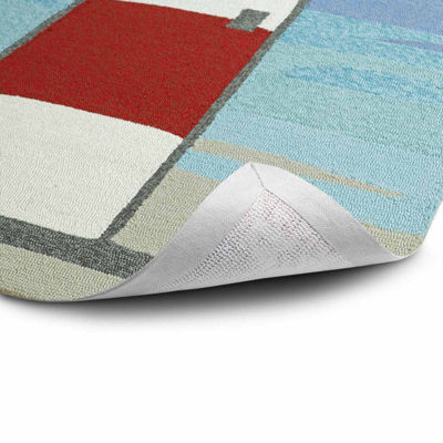 Kaleen Sea Isle Lighthouse Hand Tufted Rectangular Rugs