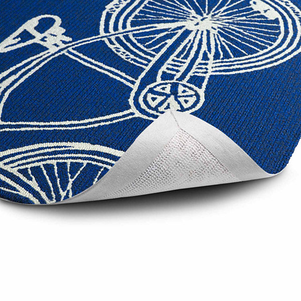 Kaleen Sea Isle Bicycle Hand Tufted Rectangular Rugs