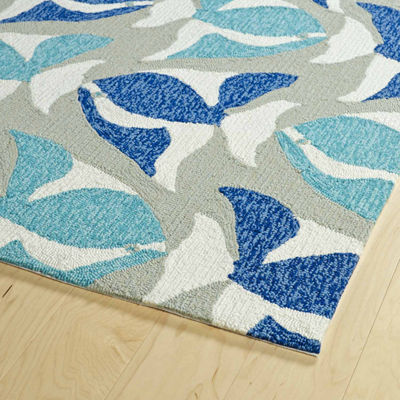 Kaleen Sea Isle Seafish Hand Tufted Rectangular Rugs