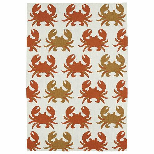 Kaleen Sea Isle Crab Hand Tufted Rectangular Rugs