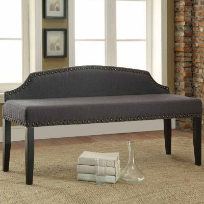 Fabric Nailhead Trim Bench