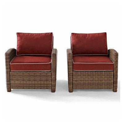 Crosley Bradenton Wicker 2-pc. Patio Lounge Chair