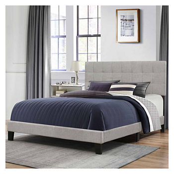 Bedroom Possibilities Daniella Upholstered Bed (Full / Queen)
