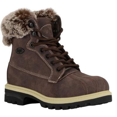 Lugz Womens Mallard Hiking Boots Lace-up