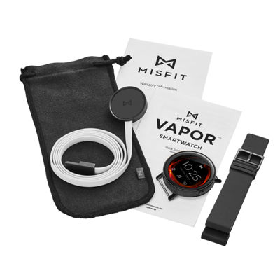 Misfit Vapor Unisex Black Smart Watch-Mis7000