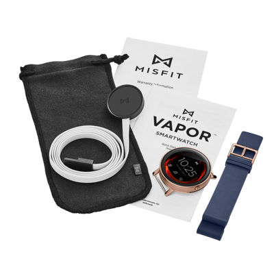 Misfit Vapor Unisex Blue Smart Watch-Mis7001