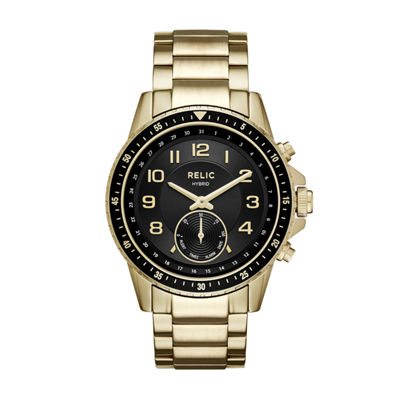 Relic Mens Gold Tone Smart Watch-Zrt1009