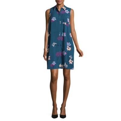 a.n.a Sleeveless Floral Swing Dress- Talls