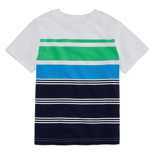 Okie Dokie Short Sleeve T-Shirt-Toddler Boys