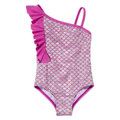 Freestyle One Piece Swimsuit Preschool Girls